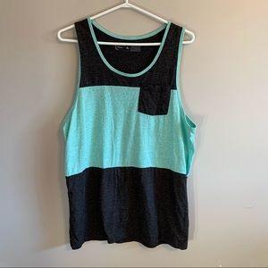 3/$30 Large Urban Heritage men's sleeveless shirt